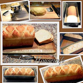 Mighty Easy Molasses Bread.