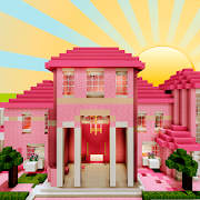 The Pink House Map for Minecraft