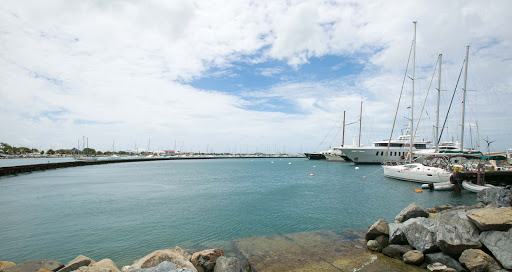 fort-louis-marina-marigot.jpg - A look out at the harbor in Marigot, the French capital of St. Maarten.