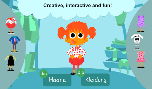 Hey Monster! German for Kids 1.2 screenshots 7