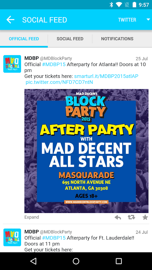 2015 Mad Decent Block Party - screenshot
