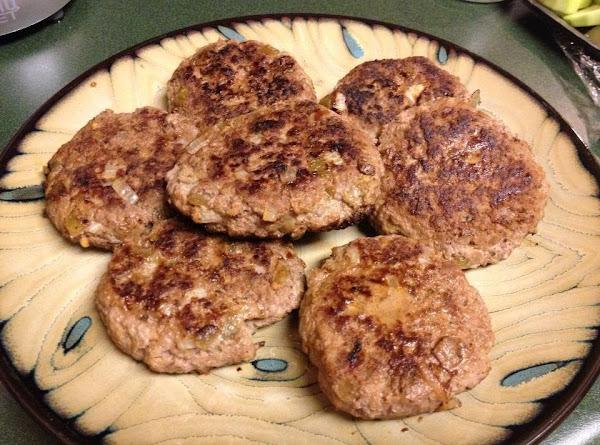 Green Chili Turkey Burgers Recipe