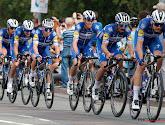 De renners van Deceuninck zijn op stage in Vlaanderen