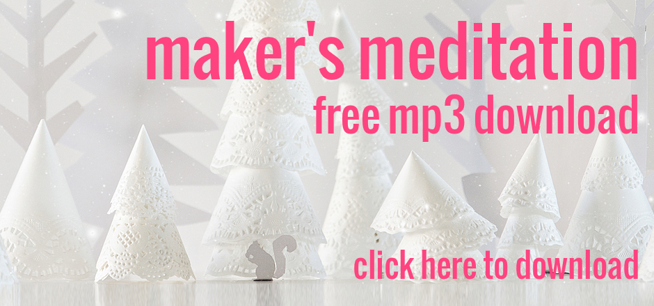 Free MP3 download for Maker's Meditation. | the merriweather council blog