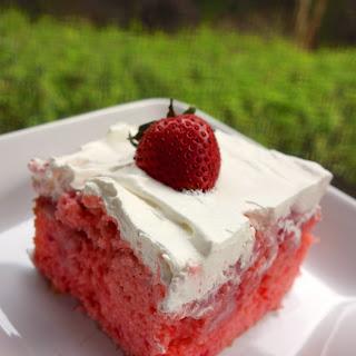 Strawberries and Cream Cake.