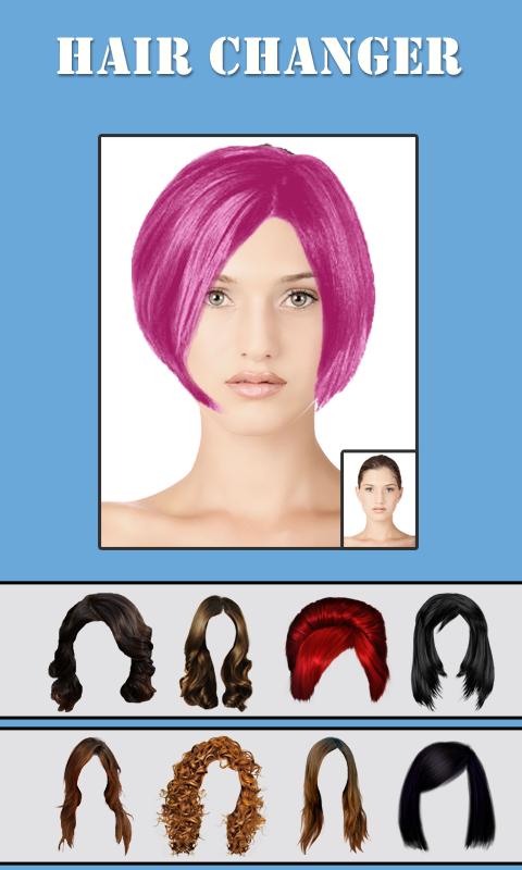 Hairstyle Changer iphone screenshot 1 Hair Changer Screenshot
