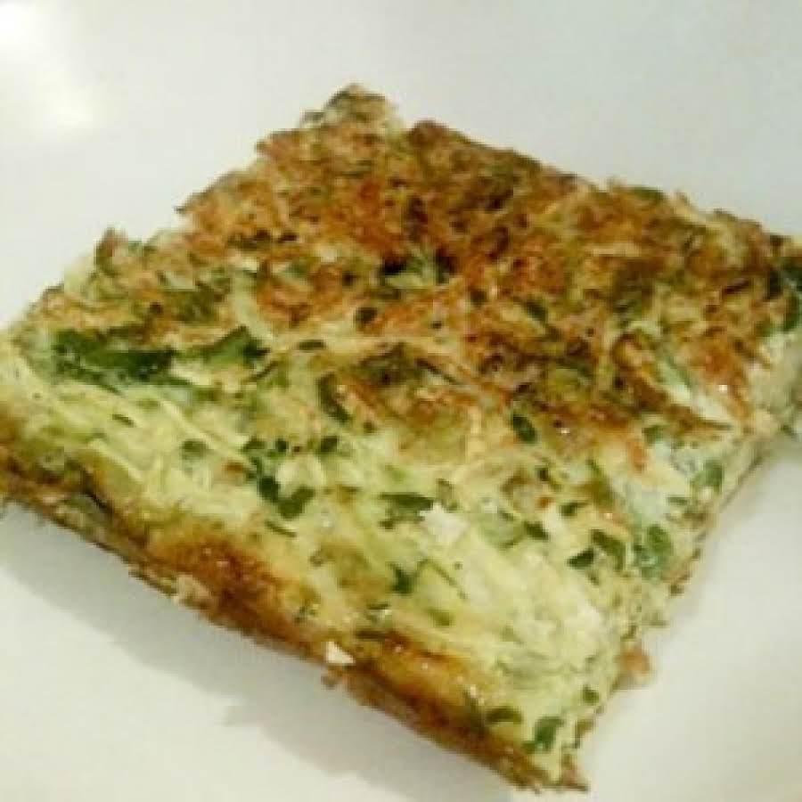 Garden Vegetable Crustless Quiche: Zucchine Quiche Recipe