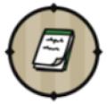 緑のメモ帳
