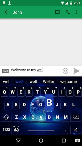 BlueWorld Emoji Keyboard