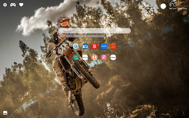 Motocross Dirt Bike Wallpapers Hd New Tab Chrome Web Store