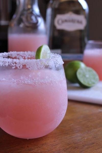 Pink Grapefruit Margaritas Recipe