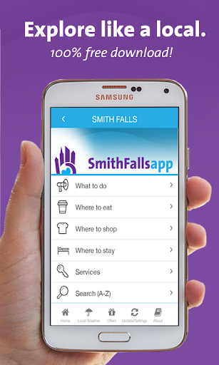 Smiths Falls App - Ontario