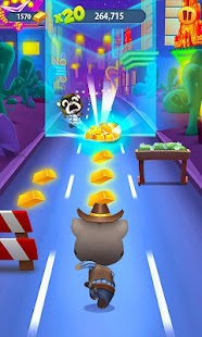 Talking Tom Gold Run- screenshot thumbnail