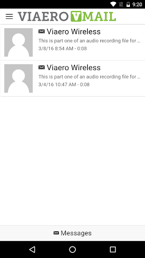 Viaero VMail app (apk) free download for Android/PC/Windows screenshot