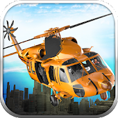 City Helicopter Rescue Flight