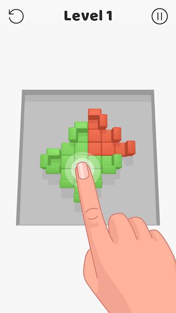Clash of Blocks Android App Screenshot
