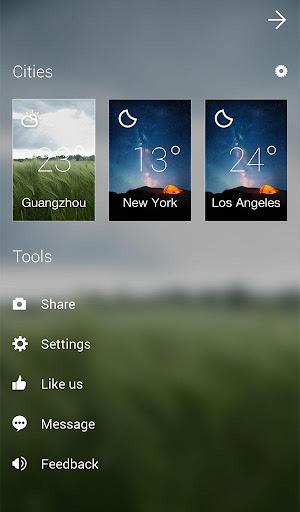 GO Weather Forecast & Widgets screenshot 23