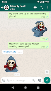 Stickers for WhatsApp - Halloween Screenshot