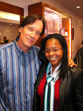 """Photo: Photo l-r: Kevin Sorbo (""""Hercules"""") and event publicist Danielle Marie Owens of Guttman PR.  Dame Elizabeth Taylor's """"House of Taylor"""" opens in Beverly Hills on Dec 12, 2009."""