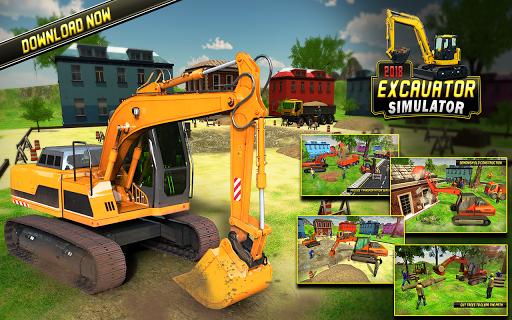 Heavy Excavator Simulator 2018 - Dump Truck Games screenshots 10