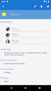 Do It Later - Message Scheduler Screenshot