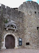 Photo: Wejście do zabudowań zamkowych castello di Gorizia (zespół pałacowy z okresu od XII do XVI wieku).