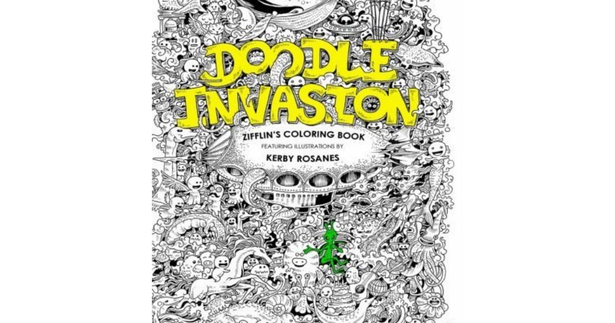 Doodle Invasion Zifflin S Coloring Book Volume 1 PDF 16a5cpdf