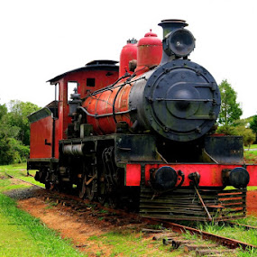 Abandoned by Peter Keast - Transportation Trains ( tourist, railway, australia, steam )