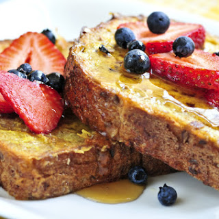 Caribbean Rum Soaked French Toast.