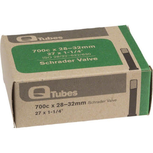Q-Tubes Schrader Valve Tube 700x28-32 - 27x1-1/4