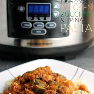 Slow Cooker Chicken & Zucchini