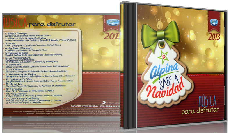 Varios Artistas - Alpina Sabe A Navidad 2013: Música Para Disfrutar (2013) [MP3 @320 Kbps]