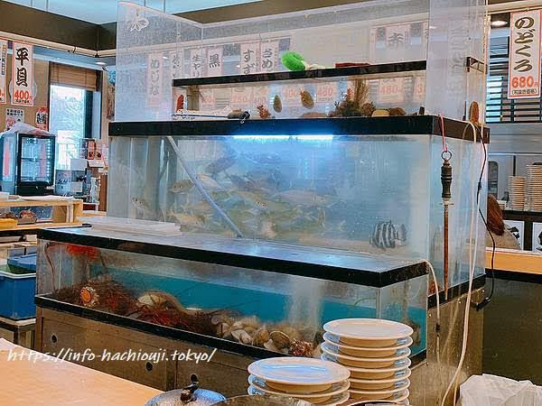 独楽寿司 水槽