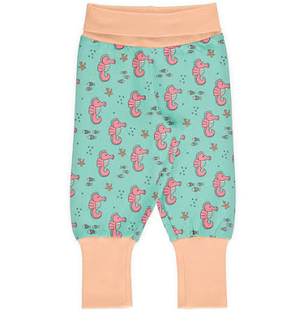 Maxomorra Rib Pants Sea Horses