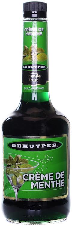 Logo for Dekuyper Menthe Green