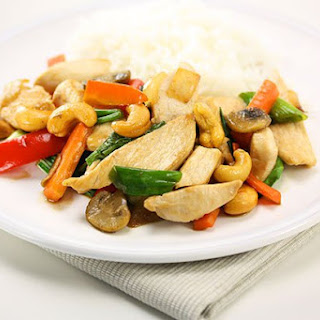 Thai Chicken Stir Fry with Cashews