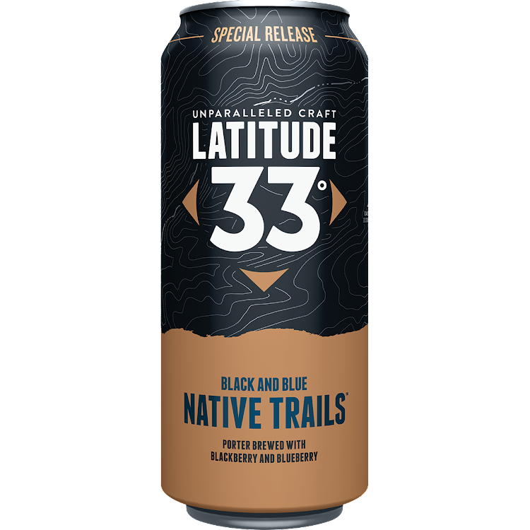 Logo of Latitude 33 Native Trails (Black & Blue)