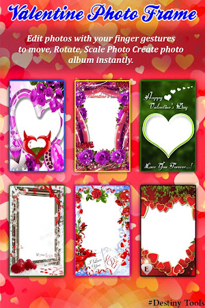Valentine Day Photo Frame 2016 1.4 screenshot 521125