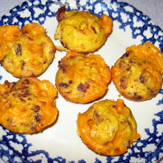 Gluten Free Bacon, Egg, and Cheese Muffins.