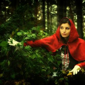 rrh by Soran Sorin - People Portraits of Women ( tale, forest )