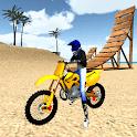 Motocross Beach Jumping 3D icon