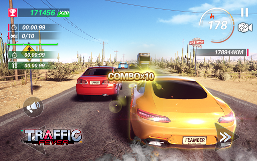 Traffic Fever-Racing game apktram screenshots 7
