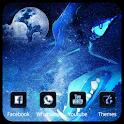 Wolf Moon Theme Wallpaper icon