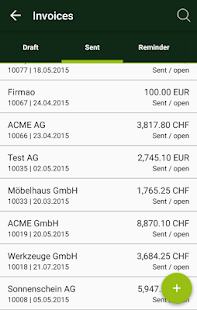 smallinvoice mobile- screenshot thumbnail