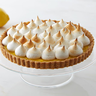 Lemon Tart With Brown Butter-Cookie Crust