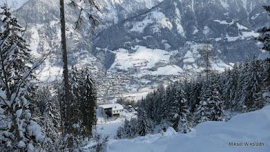 Photo: Bad Hofgastein nere i dalen.
