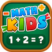 Math Kids - Educational Games For Kids icon