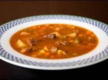 Lisa's Homemade Vegetable Soup
