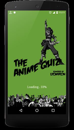 Animeのmangaのクイズの細事