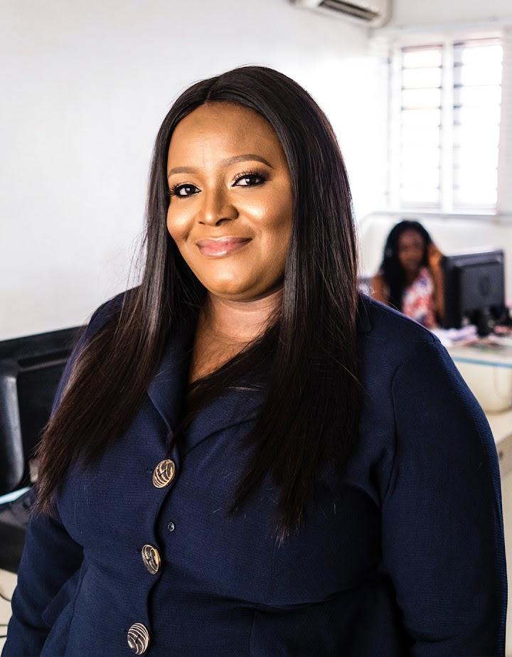 Temie Giwa-Tubosun en las oficinas de LifeBank.
